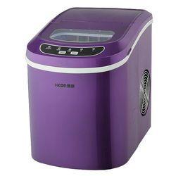 2016 La Venta Del Envío Libre 12kgs/24 h máquina de Hielo Automático Portátil, hogar Bala Redonda Hacer Máquina De Bar, cafetería Purple