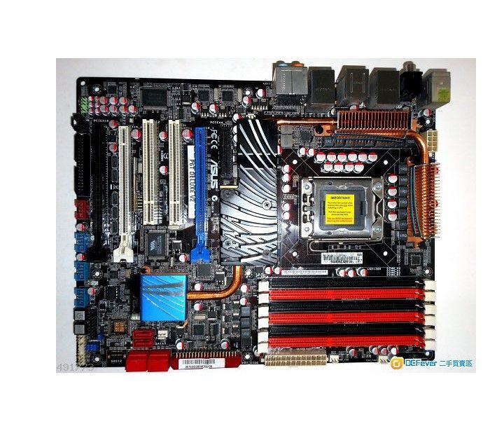 original Desktop motherboard ASUS P6T Deluxe V2 DDR3 LGA 1366 24GB USB2.0 X58 Desktop Motherboard Free shipping