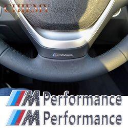 2 PC/Lot Nouvelle Décoration De Voiture///M Performance En Aluminium Autocollants Stickers pour BMW X1 X3 X5 X6 E34 E36 E39 3 5 7 Série voiture-Style