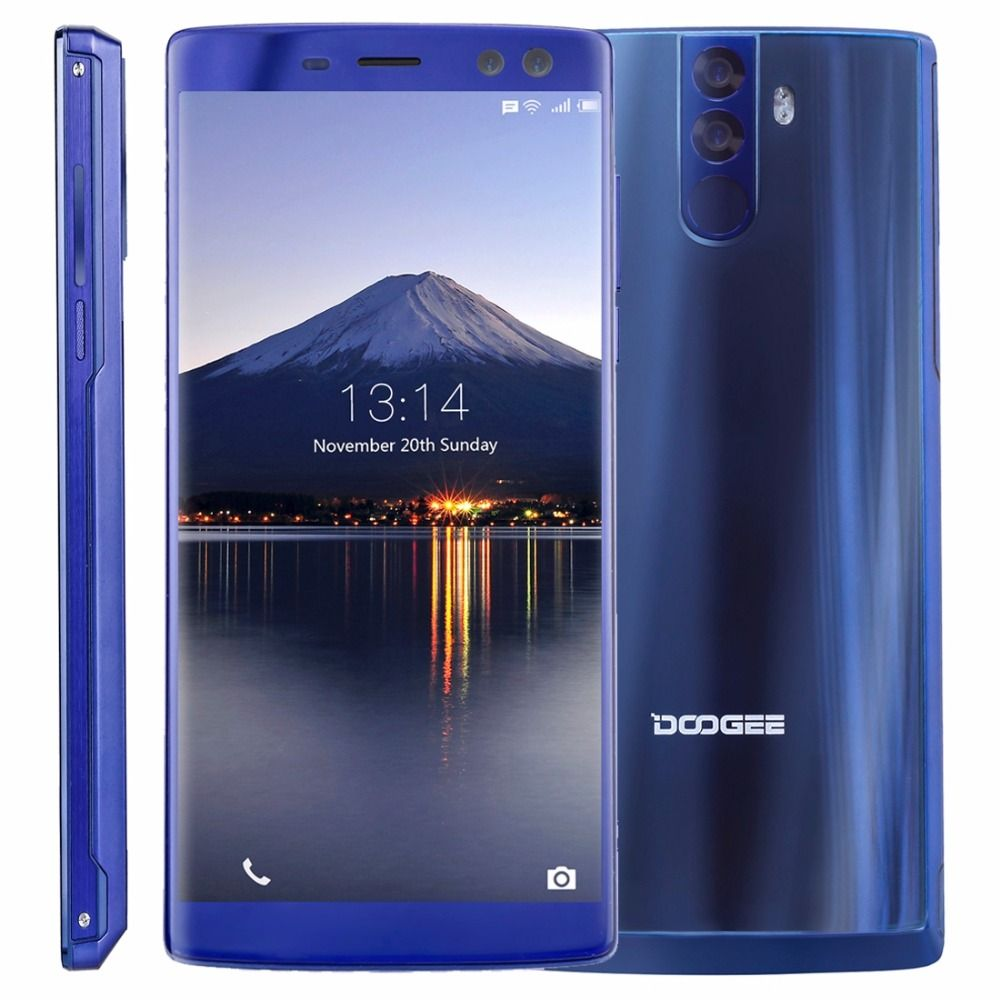 DOOGEE BL12000 4G Smartphone 12000mAh 6.0'' 18:9 Bezel-less FHD+ 4GB+32GB MTK6750T Octa Core Android 7.1 4 Camera 16+13MP 16+8MP