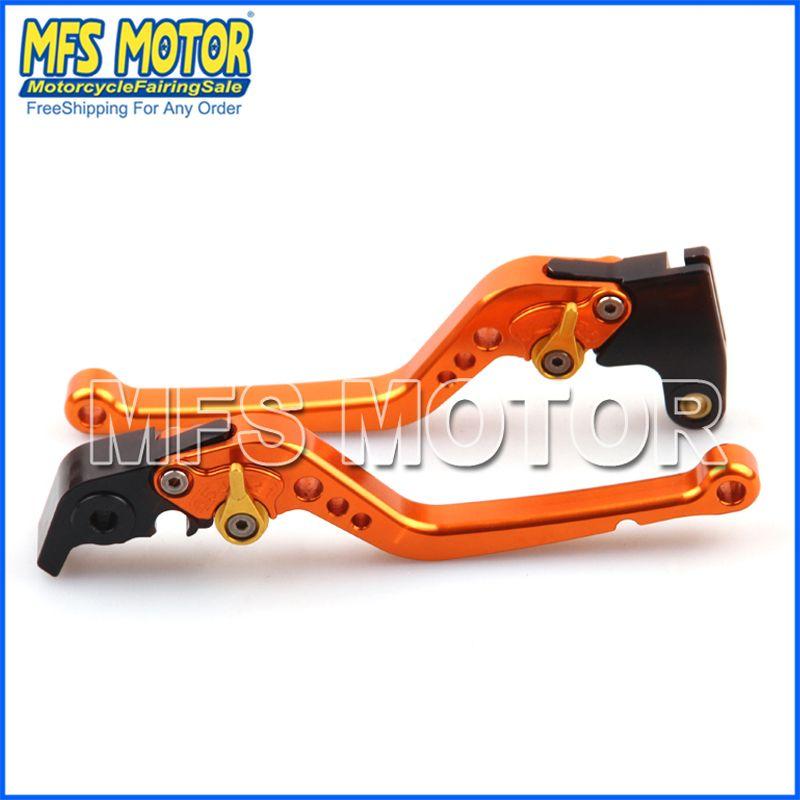 CNC Brake Clutch Levers  Motorcycle Part For Kawasaki NINJA 650R/ER-6F 2009-2012 NINJA 400R 2011 11