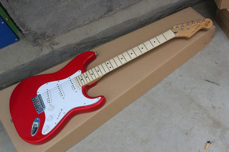 Chinese Factory musical Instruments Top quality New Eric Signature stratocaster Electric Guitar res 412