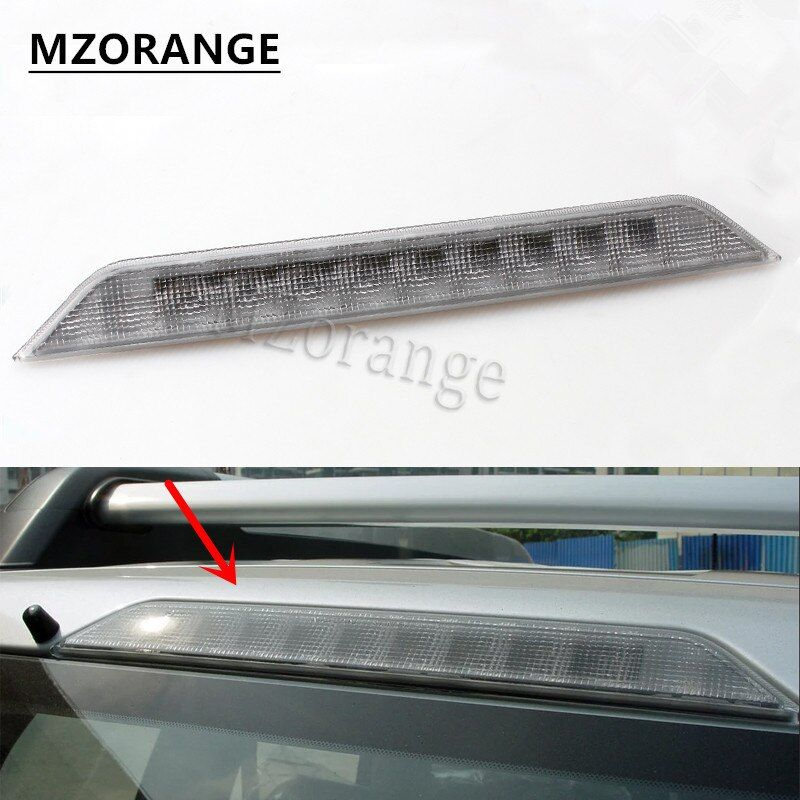 MZORANGE for Nissan X-trail T31 Xtrail 2008 2009 2010 2011 2012 2013 Car High Positioned mount Rear Third Brake light stop lamp