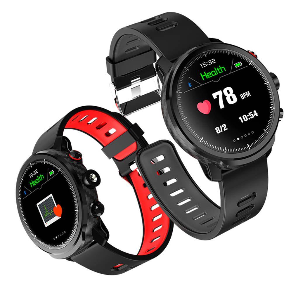 Neue L5 Smart Uhr Männer IP68 Wasserdicht Mehrere Sport Modus Herz Rate Wetter Prognose Bluetooth Smartwatch