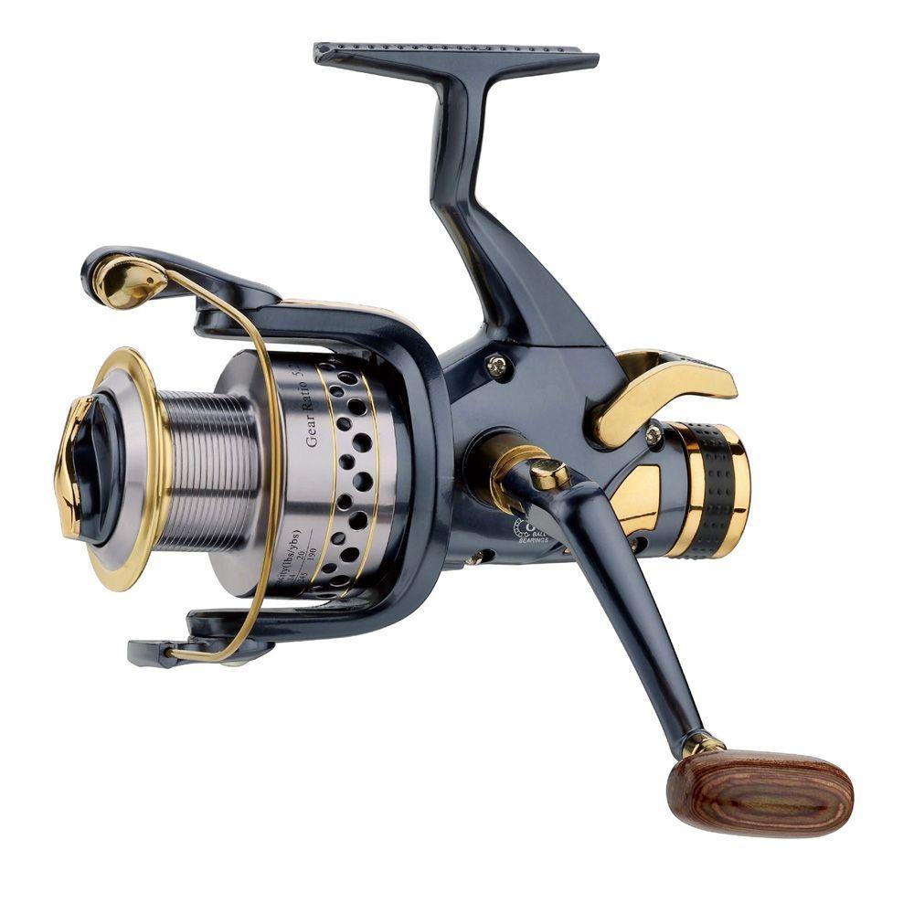 Appâts de pêche bobine de coureur gratuit moulinets de filature SW40, SW50, SW60 moulinet de pêche en métal