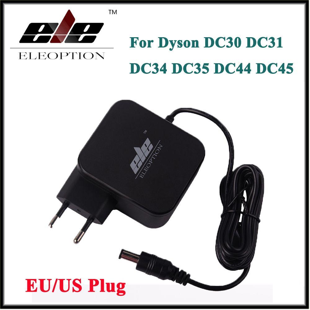 Nouveau AC Adaptateur Chargeur de Batterie Adaptateur pour Dyson DC30 DC31 DC34 DC35 DC44 DC45 DC56 DC57 24.35 v 348mA 16.75 v 17530-02 UE/US plug