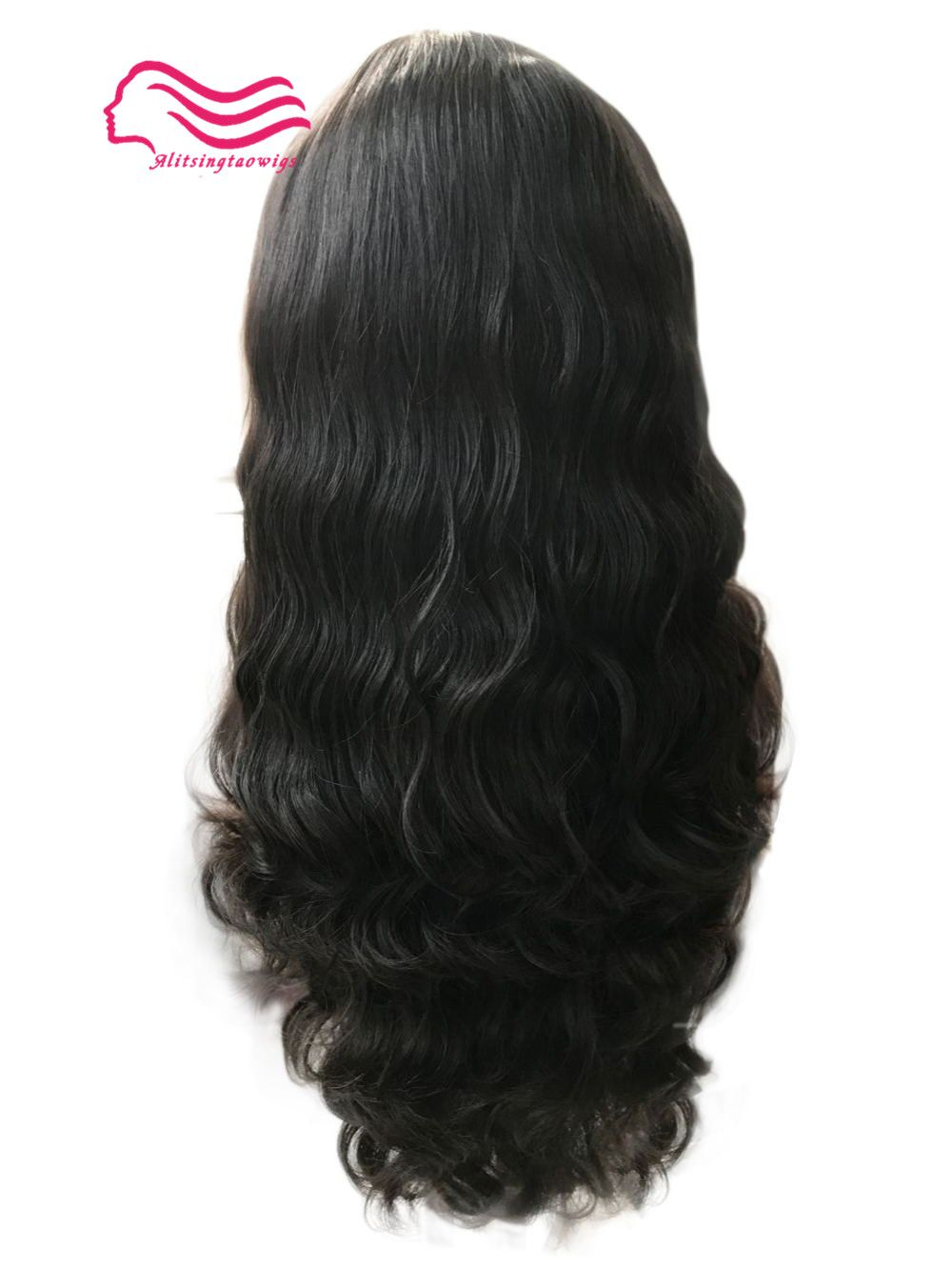 Top European virgin hair slight wave jewish wig ,silk top kosher wig Best Sheitels free shipping
