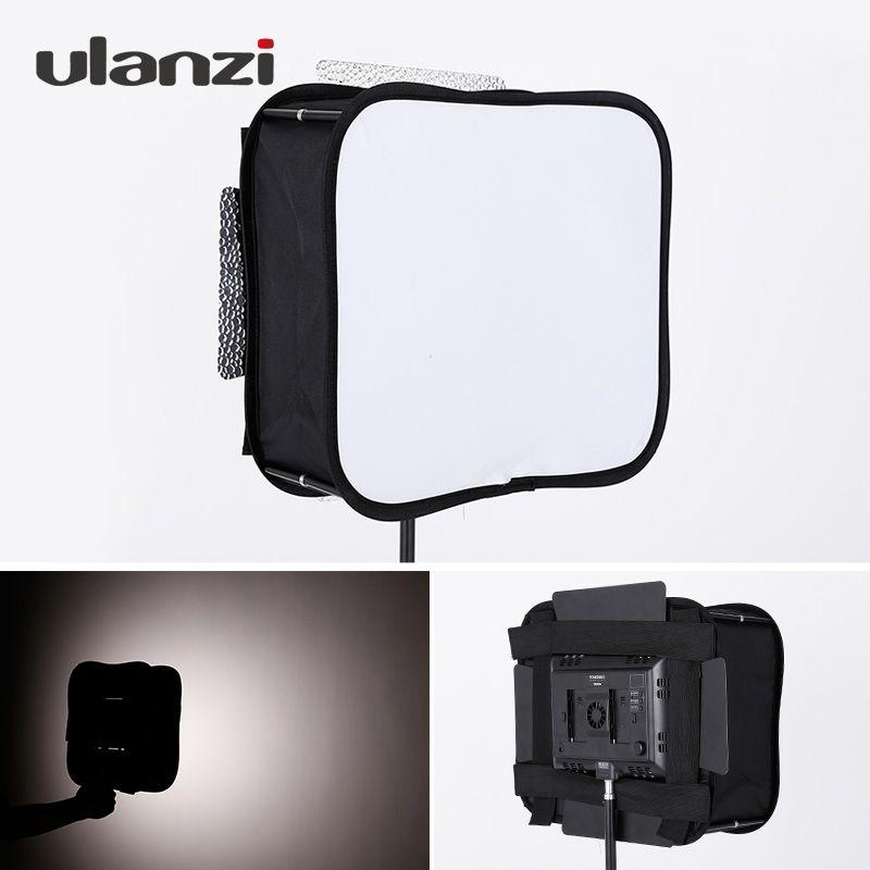 Ulanzi Portable Foldable Flash Softbox Diffuser for YONGNUO Led Video Light Panel YN600L II YN900 YN300 YN300 III YN300Air