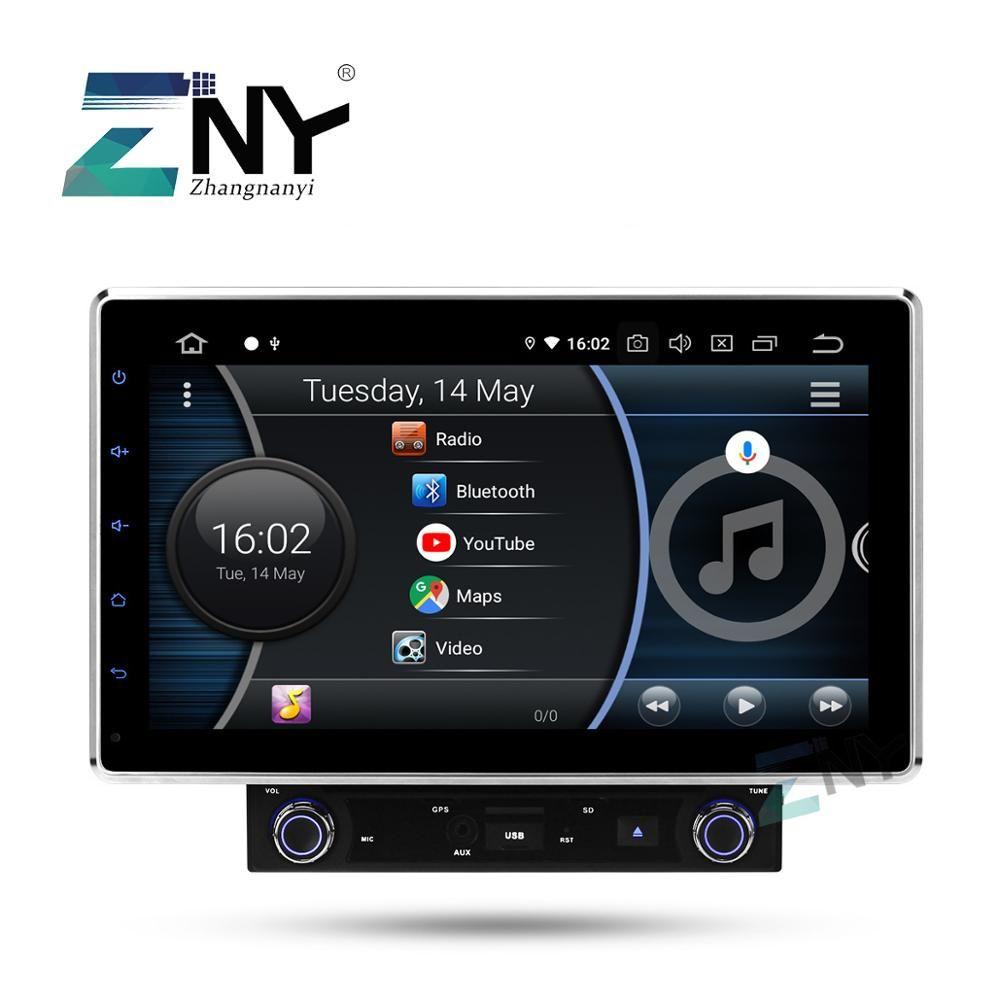2019 beste 10,1 In Dash Doppel 2 Din Universal 8 Core Auto Stereo Android 9.0 Auto Radio FM GPS Navigation audio Video DSP Player