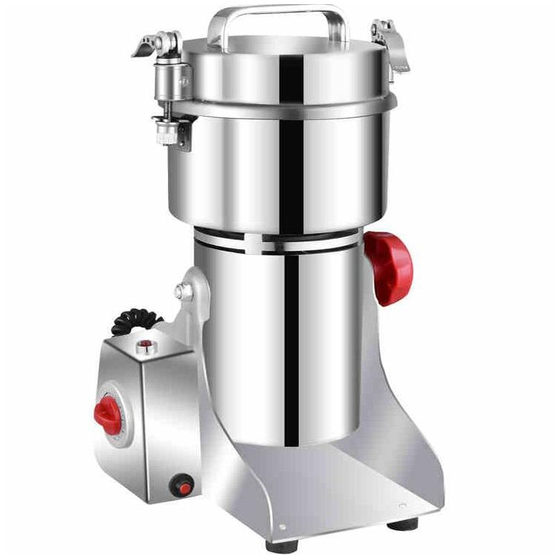 700g Swing Type Electric Grains Herbal Powder Miller Dry Food Grinder Machine high speed Intelligent Spices Cereals Crusher