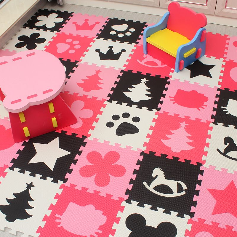 Marjinaa baby EVA Foam Play Puzzle Mat/ 20 or 30/lot Interlocking Exercise Tiles Floor Carpet Rug for Kid,1cm Thick
