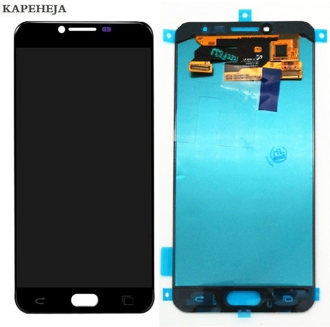 New Super AMOLED LCD For Samsung Galaxy C5 C5000 LCD Display Touch Screen Digitizer Assembly