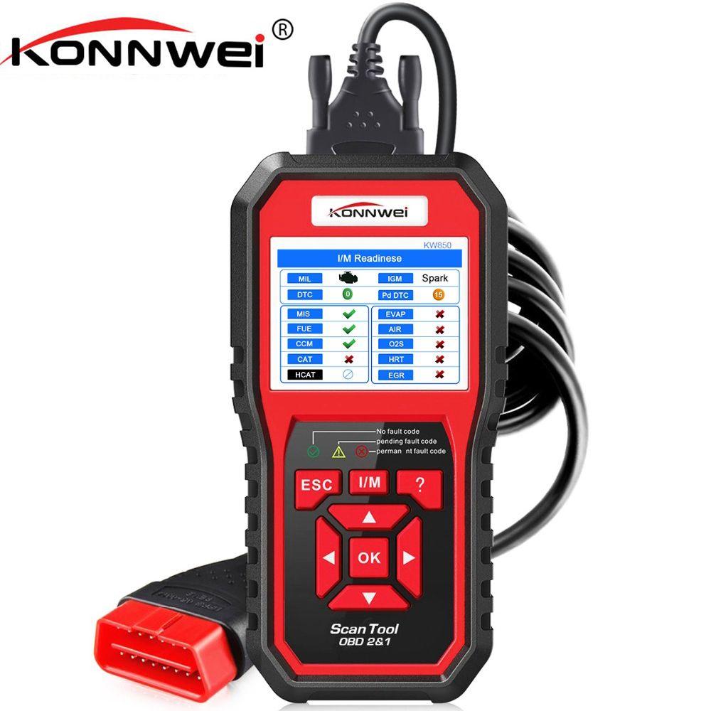KONNWEI OBD2 Automotive Scanner OBD 2 Auto Diagnostic Scanner Engine Fault Error Code Reader ODB2 Diagnostic Scan Tool for Car