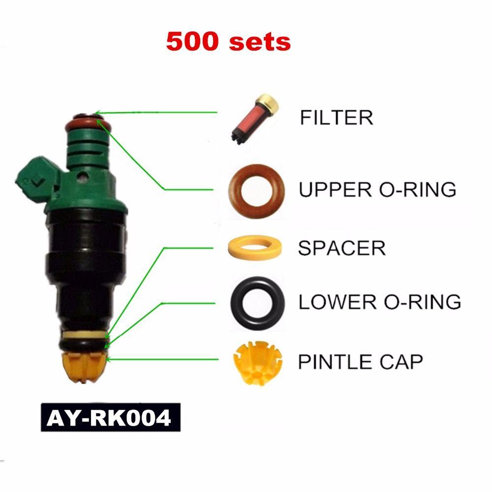 500sets Fuel injector repair kit For BMW E36/E34/M50/S50 3.0L M3 2.5L 323i 525i OEM 0280150415 (AY-RK004)