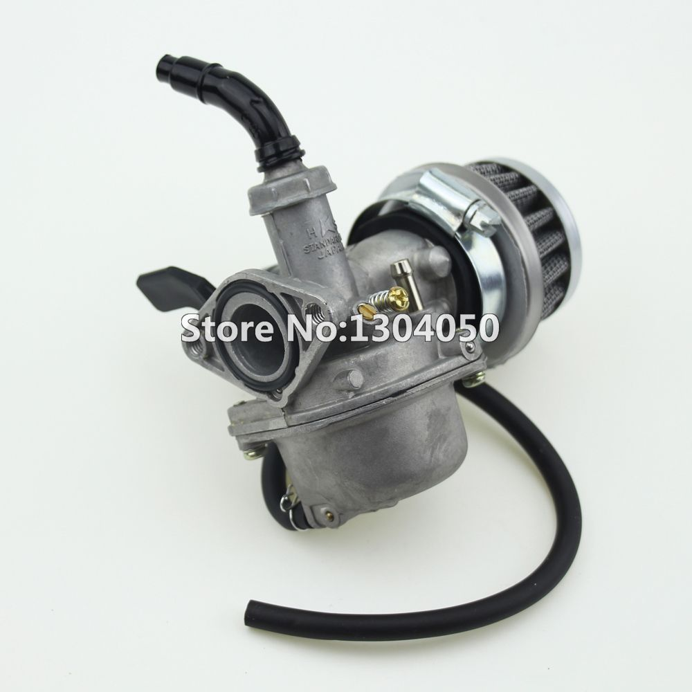 19mm Carburetor PZ19 Carb Air Filter Chinese 50 70 90 110 125 cc ATV Quad 4 Wheeler Taotao Roketa SunL Kazuma Peace new
