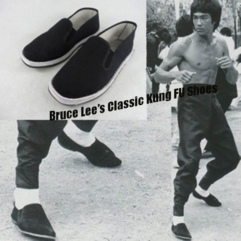 High Quality Breathable Wing Chun Kung Fu Shoes Vintage Chinese Tai Chi Cloth Shoes Martial Arts Footwear