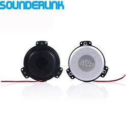 2pcs/lot Sounderlink Small tactile transducer mini bass shaker bass vibration speaker for home theater sofa car seat