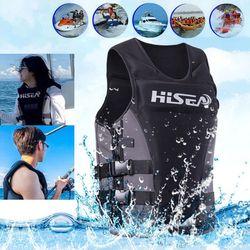 Neoprene Profession Life Vest CE Adult Fishing Vest Surfing Drifting Motorboat Buoyancy Life jacket Swimming Floating Clothing