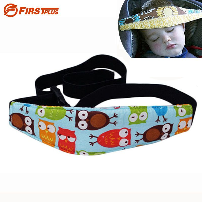 180cm Adjustable Baby Car Seat Sleep Positioner Baby Chair Headrest Sleeping Head Support Pad Child Seats Fastening Belts Pillow