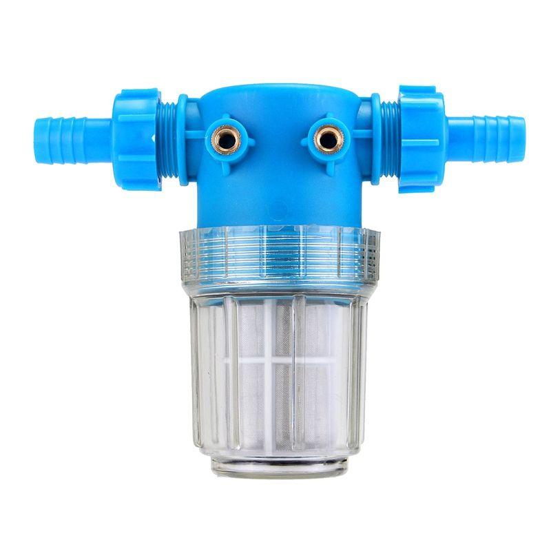 Hochdruckreiniger Wasserfilter In Linie Hochdruckreinigungsmaschine Teile 3/4 20mm Schlauch Einlass Quick Connect 100 Mesh