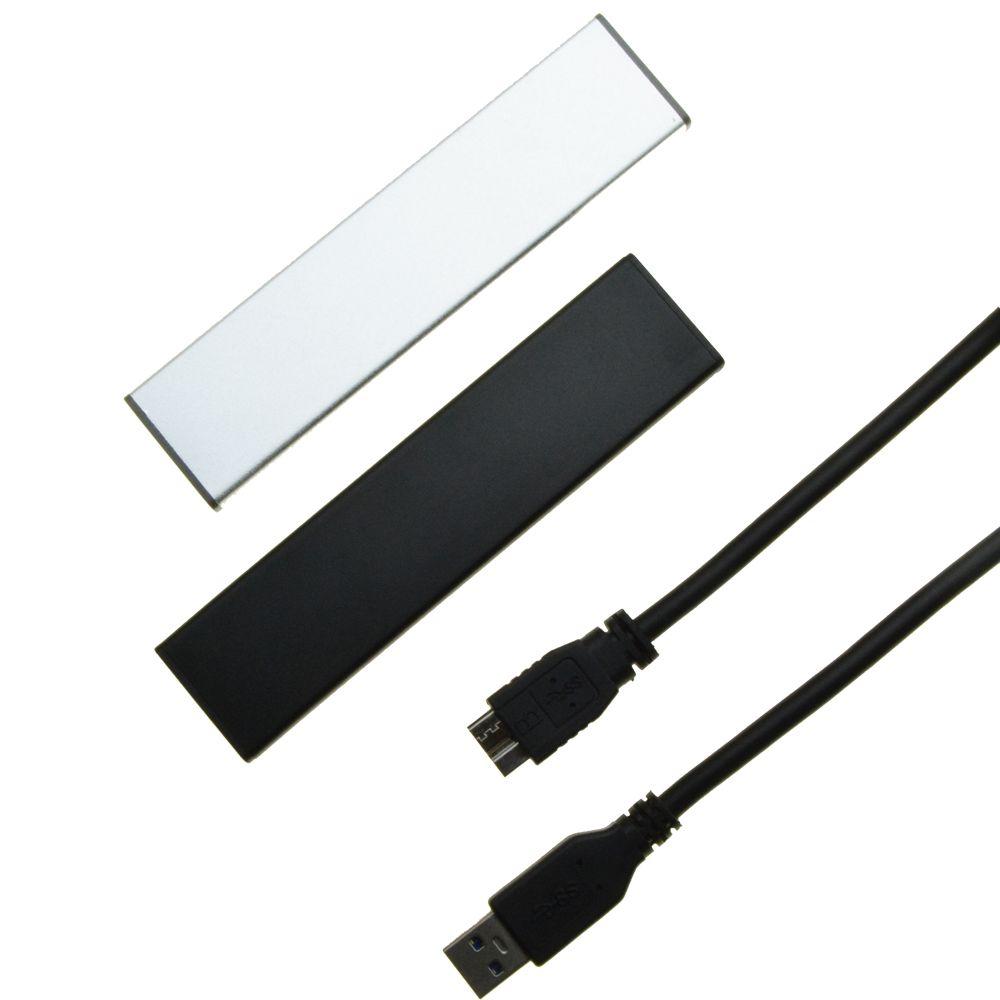 Pour Macbook 2010 2011 Air A1369 A1370 SSD boîtier Portable USB 3.0 à 12 + 6 broches lecteur de disque slot HDD boîtier Mobile