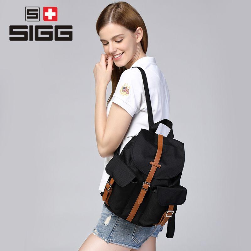 SIGG 20L wanderrucksack außentasche bergsteigen männer frauen schultasche Reise rucksack freizeit männlichen softback rucksack
