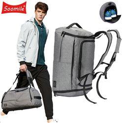 35L универсальный для мужчин Дорожная сумка большой ёмкость вещевой сумки большой багаж, для отпуска повседневное кабина Рюкзак Спорт Новый