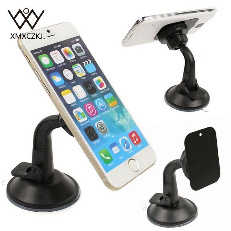 Support universel rotatif de support de pare-brise de voiture de ventouses de 360 support pour téléphone portable support pour téléphone portable magnétique pour tablette CPS