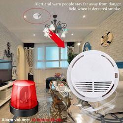 85dB النار الدخان الكهروضوئي مستشعر رصد نظام الحماية المنزلي اللاسلكي للأسرة الحرس مكتب بناء مطعم