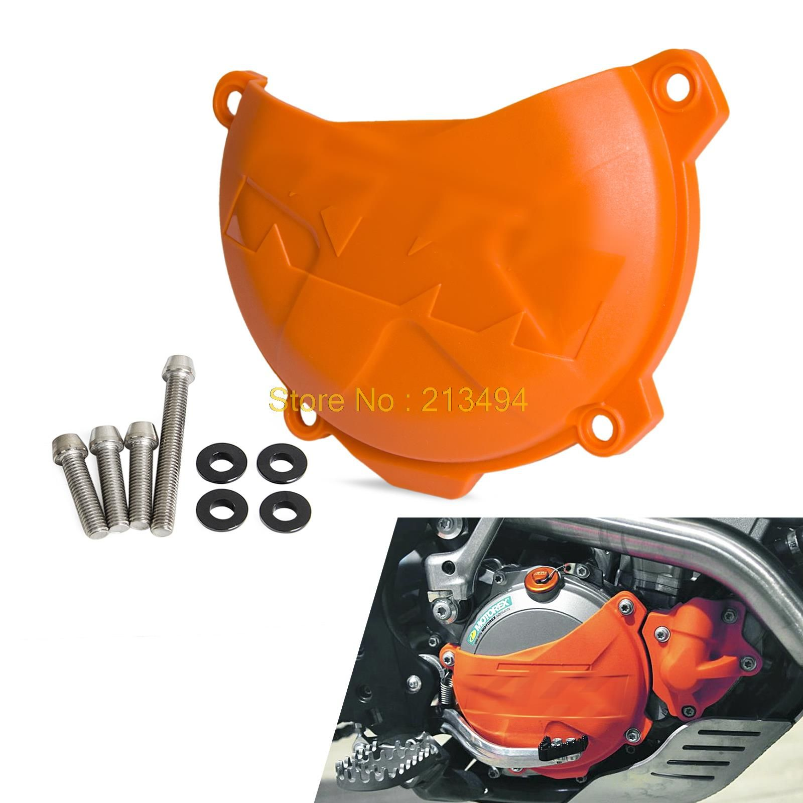 Clutch Cover Protection Cover Fits KTM 250 SX-F 250 XC-F 350 XC-F 2013 2014 2015