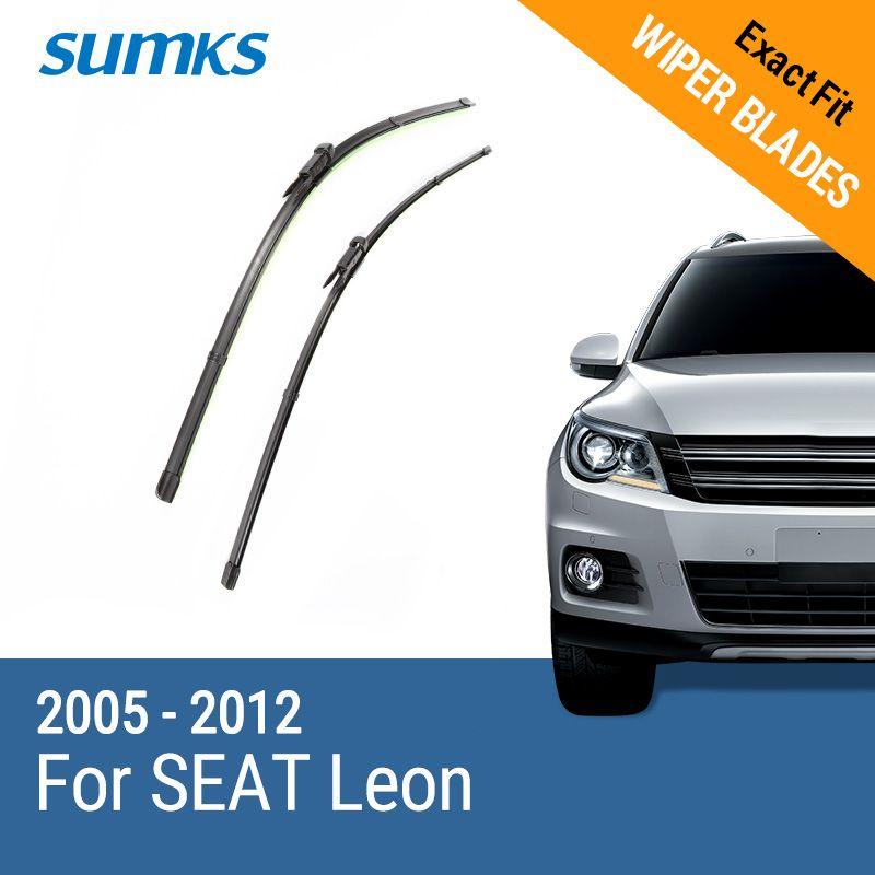 SUMKS Wiper Blades for SEAT Leon 26