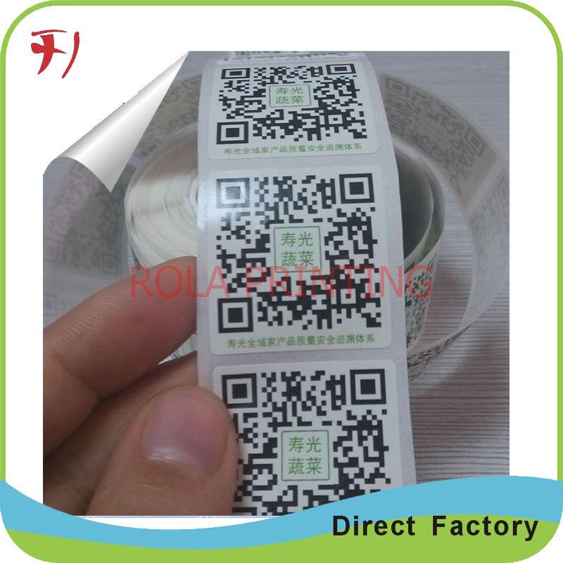 High quality matt silver PET sticker, custom weatherproof silver foil label