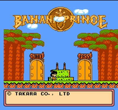 Banana prince 60 Pin Game Card For 8 Bit Subor Game Player