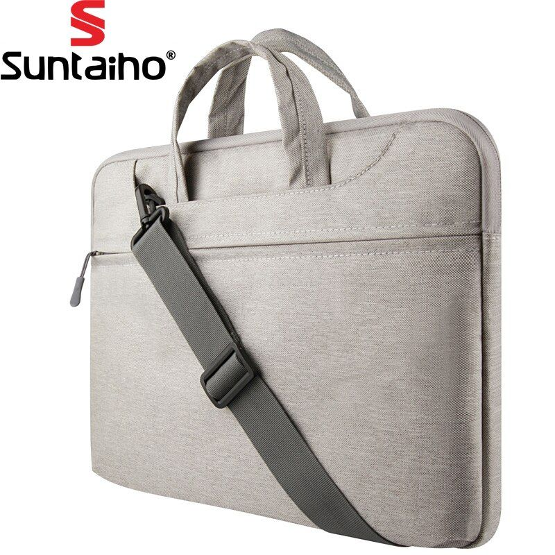 Laptop Sleeve Tasche 11 12 13 15 zoll Schutz Zipper Schulter Notebook Tasche für Macbook Air 13 Pro unisex männer frauen Durable