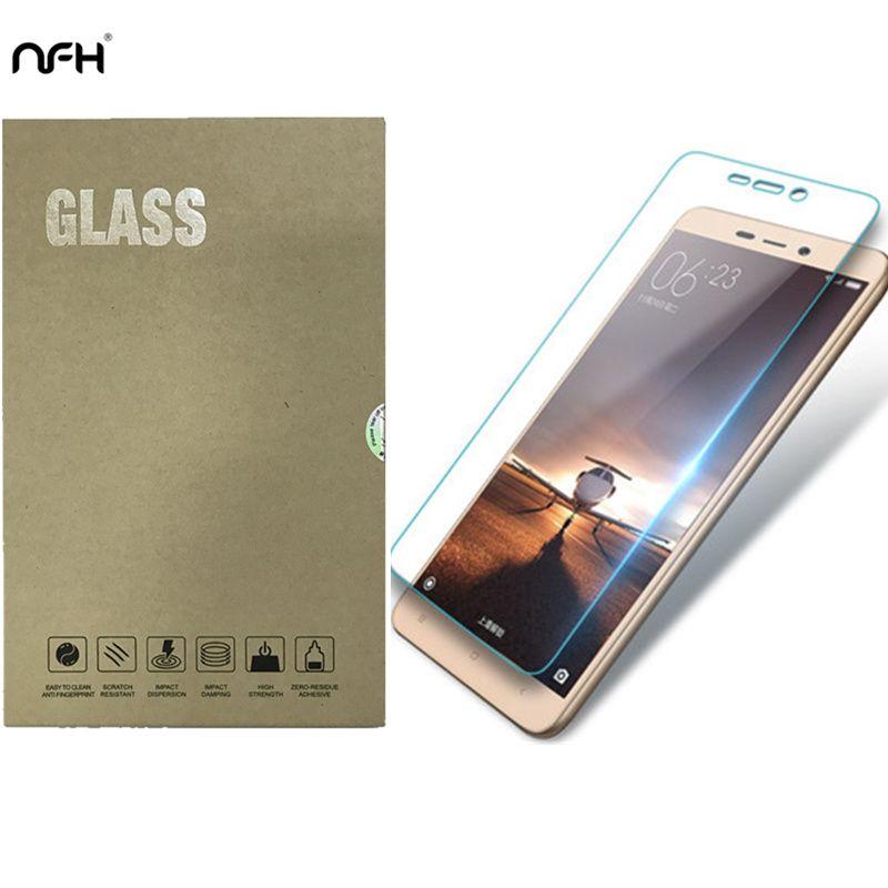 Оригинальный NFH закаленное стекло для Xiaomi Redmi 3 3s мм 0,3 мм 9 H экран Взрывозащищенная защитная пленка для Xiaomi Redmi 3 S 3s Pro