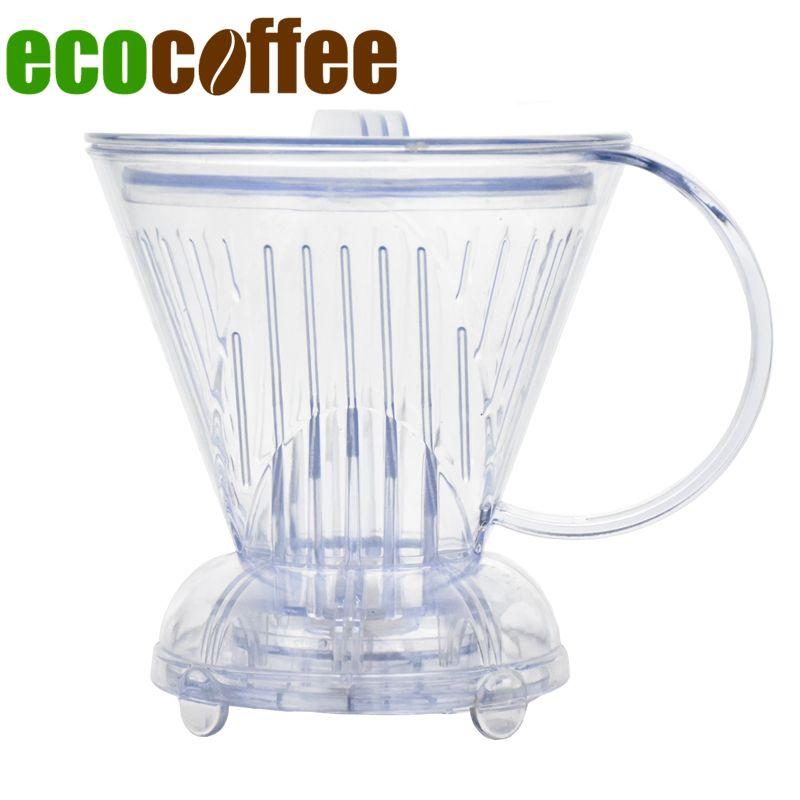 Livraison gratuite tasse intelligente goutteur de café style folliculaire pot à café bol à café
