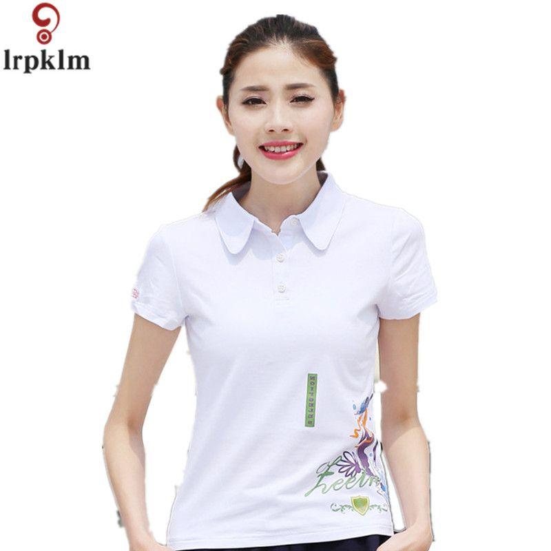 High Quality Sweet Womens Ladies Femmes Cotton Polo Shirts Short Sleeve Polo raph femme cheval damen polo hemd Summer Top YY931