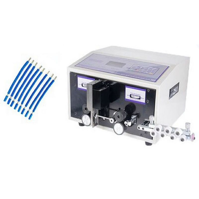SWT508C automatic Computer wire Peeling Stripping Cutting Machine for computer strip wire machine 2.5mm2