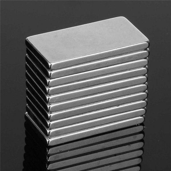 10/20/50Pcs N50 Neodymium Block Magnet 20x10x2mm Super Strong Rare Earth Magnets