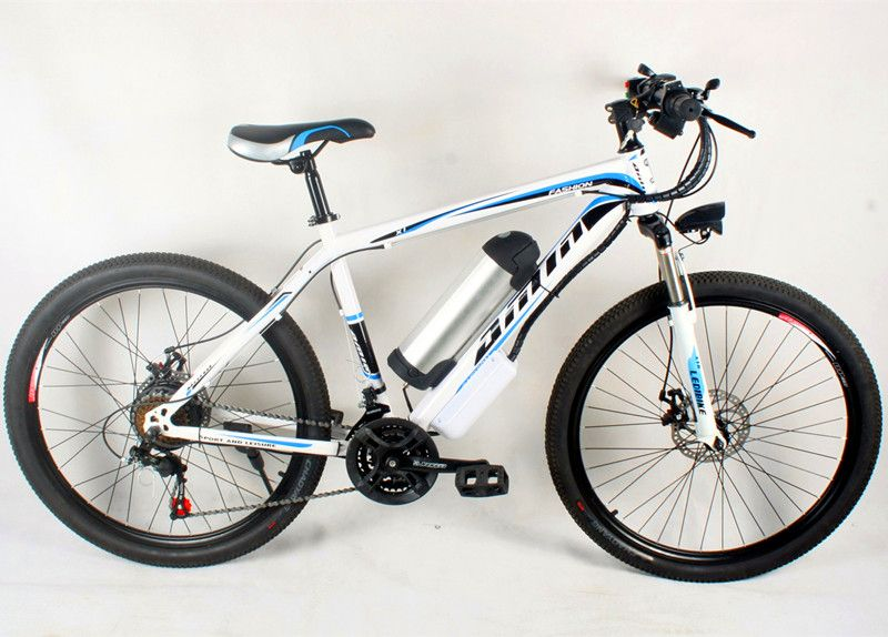 The 26 inch lithium battery electric bicycle electric mountain bike 500W engine runs long, electronic bicycle manufacturers whol
