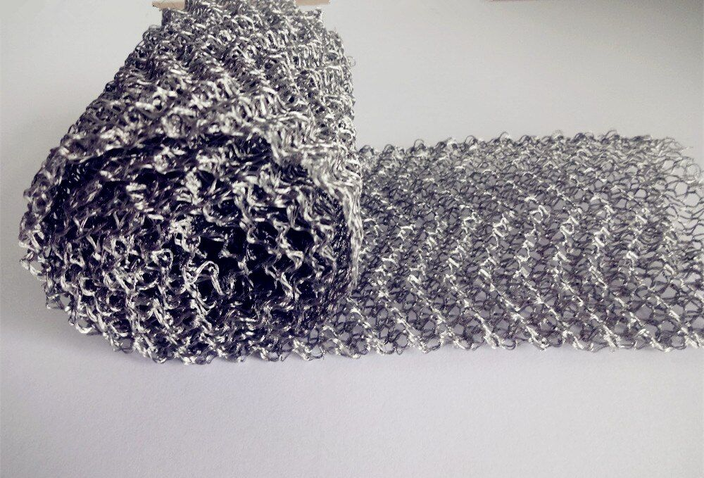 Livraison gratuite 4 treillis métallique Filtre Inoxydable Steel304 Tissé Fil Écran Filtre Pour Home Brew Distillation, Width10cm Diameter0.15mm
