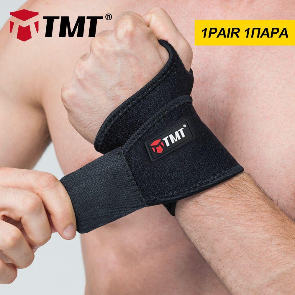 TMT bretelles de poignet sport pouce enveloppes stabilisateur haltérophilie exercices de soutien Gym Bandage protège-main douleur à l'arthrite