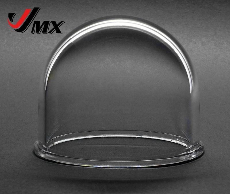 JMX 2 pouces acrylique intérieur/extérieur clair IP caméra dôme couverture Web caméra dôme logement