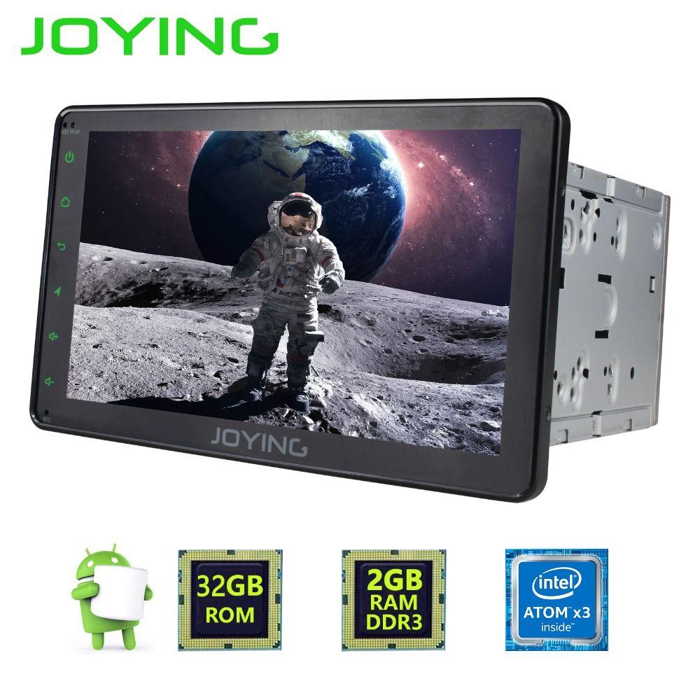 Joying 2GB Ram Cassette Recorder HD 8'' Android 6.0 Car Radio stereo Head Unit GPS Navi Support steering wheel DVR rear camera