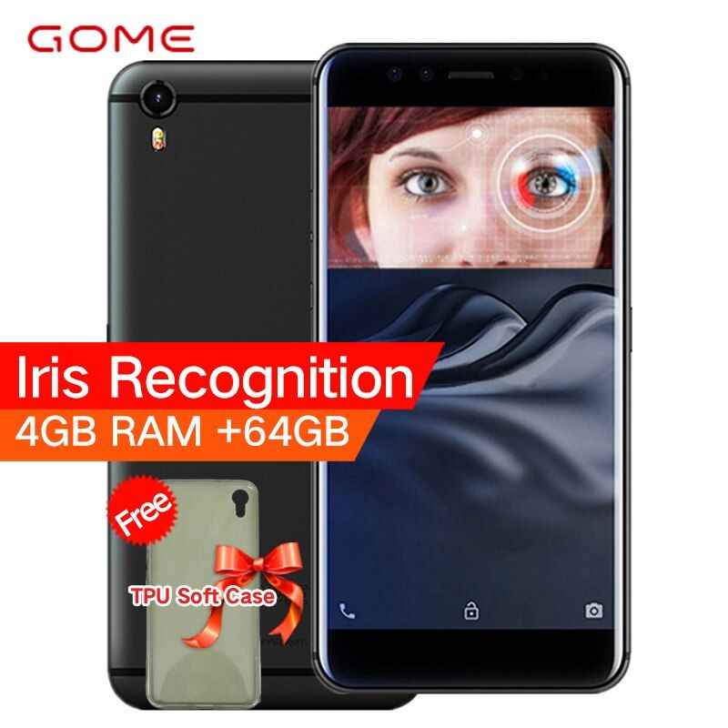 Original GOME K1 4G LTE Smartphone 4G RAM 64G/128G ROM 5.2 inch 1080P MTK6757 2.3GHz Octa Core Android 6.0 Mobile Phone