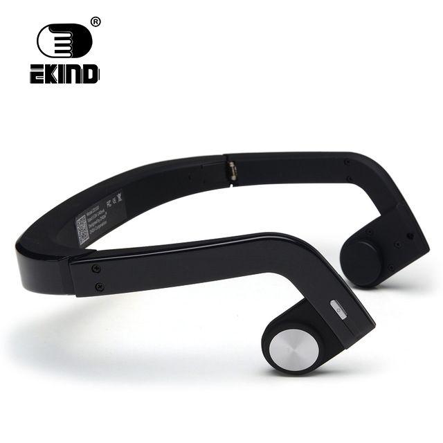 EKIND Bone Conduction Earphones Earphone Wireless Headset Stereo Sport Headphone ZD100 Handsfree for Bluetooth
