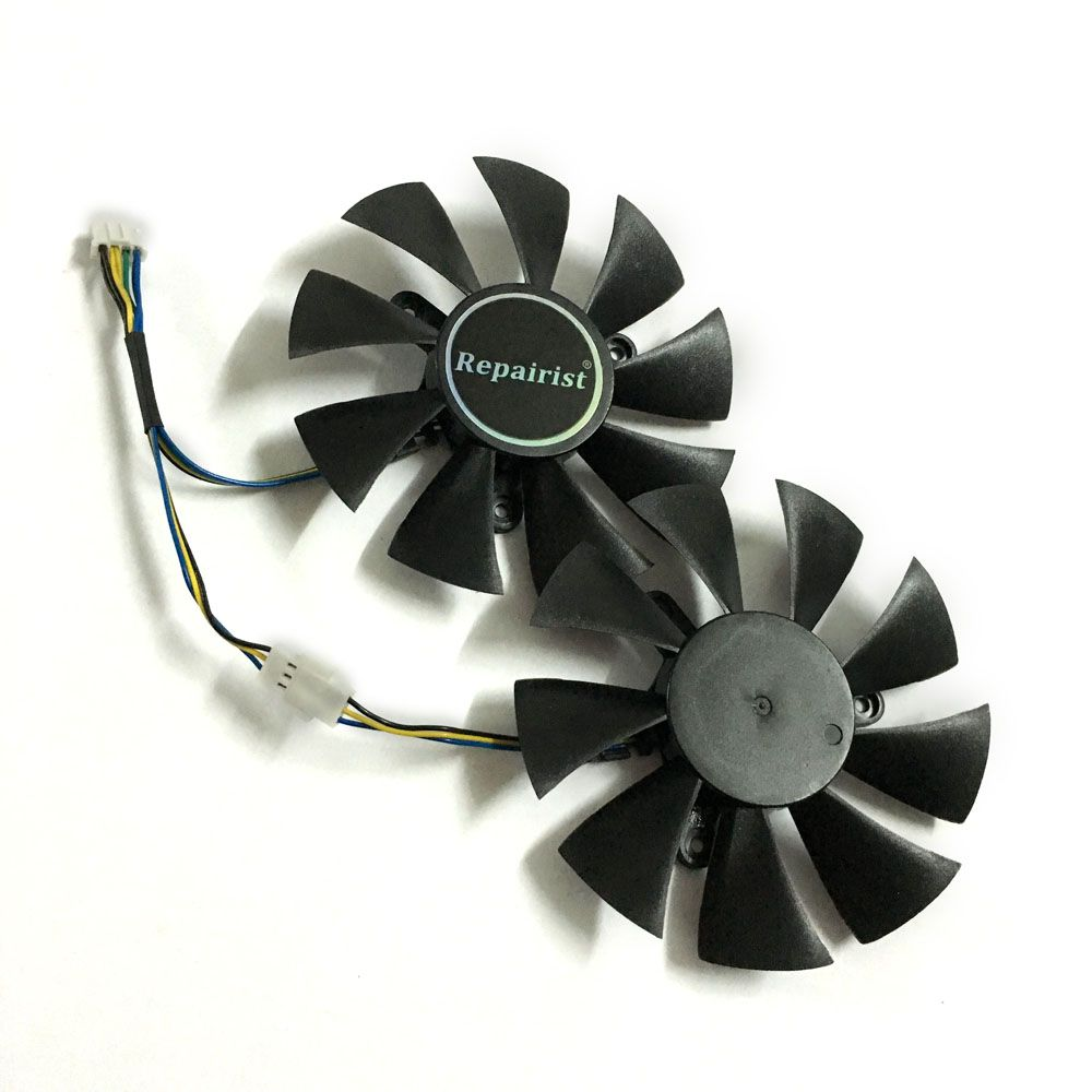 2pcs/set GFY09010E12SPA GTX 1070/1060 GPU Cooler video card fan For zotac GTX1060 GTX1070 MINI Graphics Card cooling