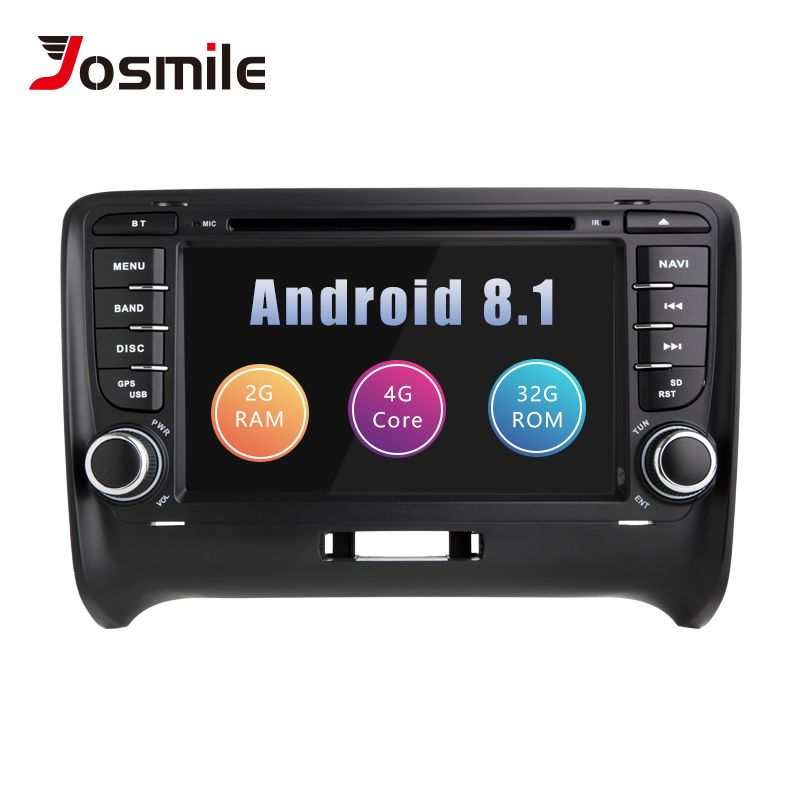 Auto Multimedia-Player 2 Din Android 8.1 Für AUDI TT MK2 8J 2016 2007 2008 2009 2010 2011 2012014 GPS Navigation system Radio DVD