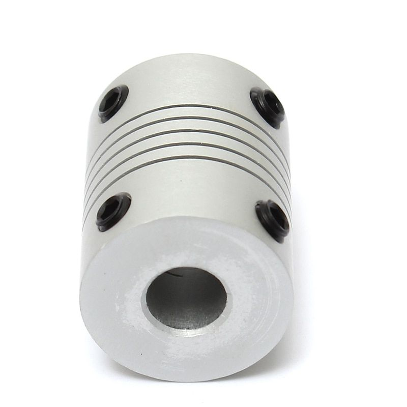 1PCS Aluminum Alloy 6x7mm Motor Jaw Shaft Coupler 6mm To 7mm Flexible Coupling OD 19x25mm Router Connector