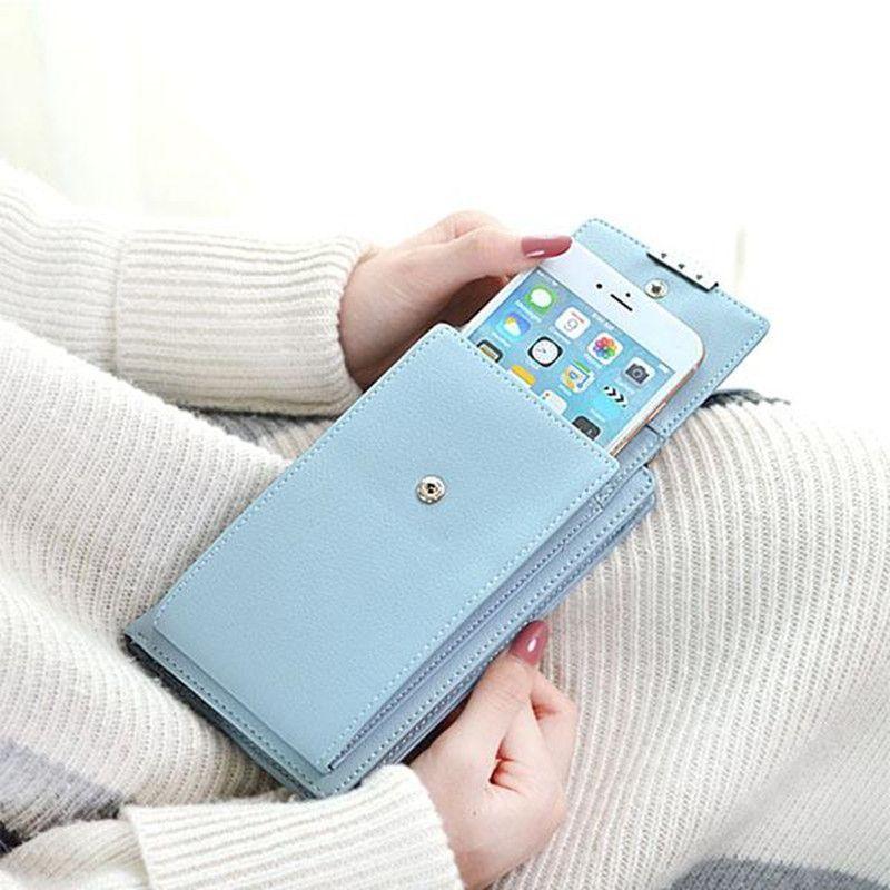 Drop Shipping Women Mini Shoulder Bag Multifunctional Female Wallet Crossbody cellphone Bag All-match Portable Small Purse
